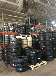 Metro Industrial Tire Solid Tire