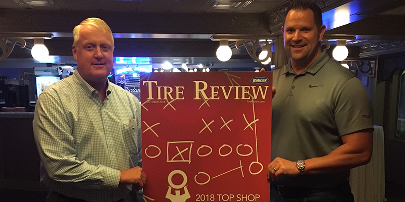 Tire Review 2018 Top Shop Award Tate Boys Tire Service