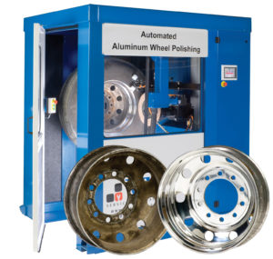 VIS Automated Aluminum Wheel Polishing