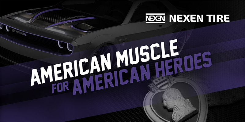 American Muscle Nexen Tire Purple Heart