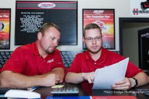 Brandon and Tony Eagle Tire Pros