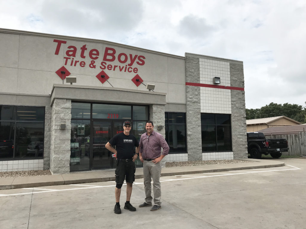 Craig and Chris Tate Tate Boys Tire