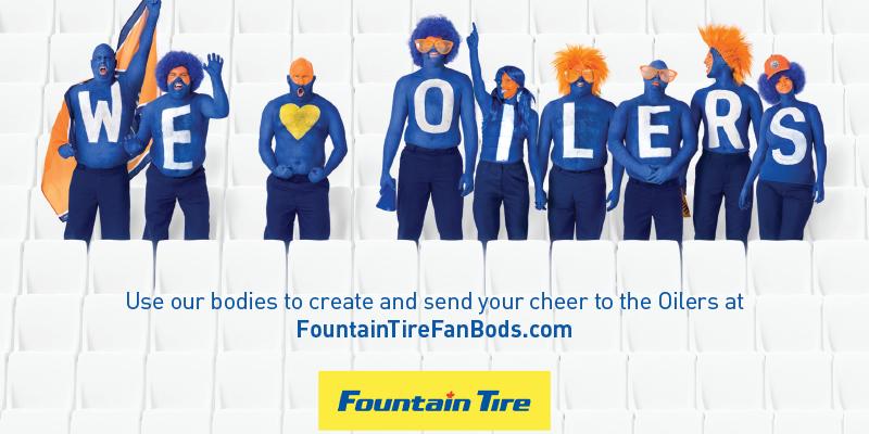 Fountain Tire Edmonton Oilers