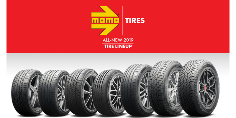 MOMO Tires all season tires SEMA