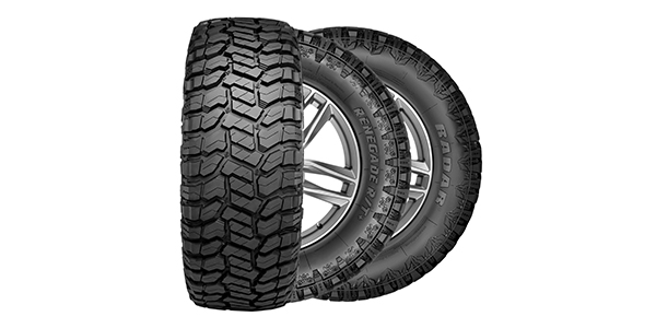 Radar Tires Launches Renegade Rugged Terrain Range Tire