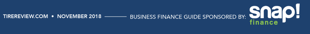Snap Finance 2018 Business PLanning Guide Tire REview