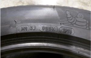 Michelin tires with marking