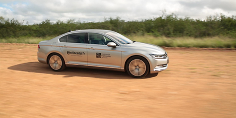 Continental Driverless car tire tests