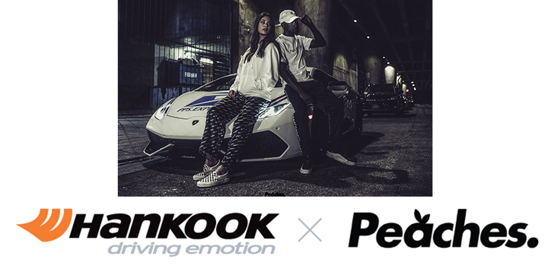 Hankook Tire Peaches collaboration