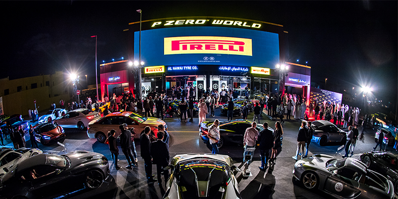 Pirelli P Zero World Dubai