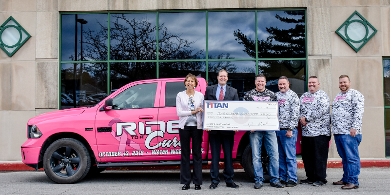 Titan International Ride for a Cure