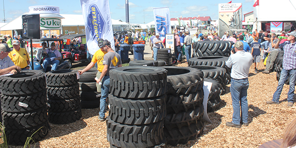 Titian tire farm tire auction