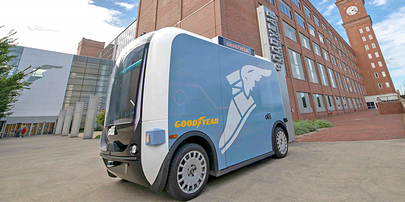 Goodyear Olli autonomous vehicle