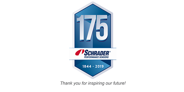 Schrader Performance Sensors 175th anniversary