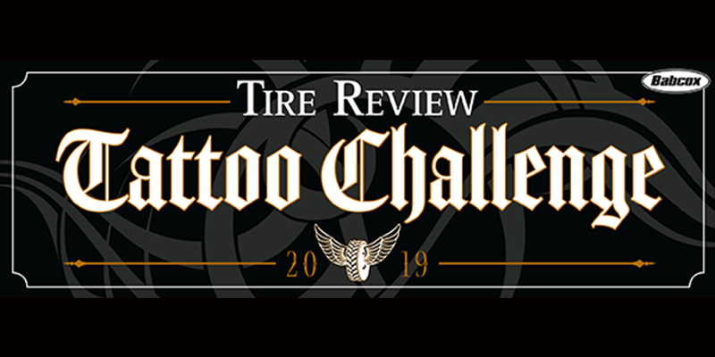 Tire Review Tattoo Challenge 800x400