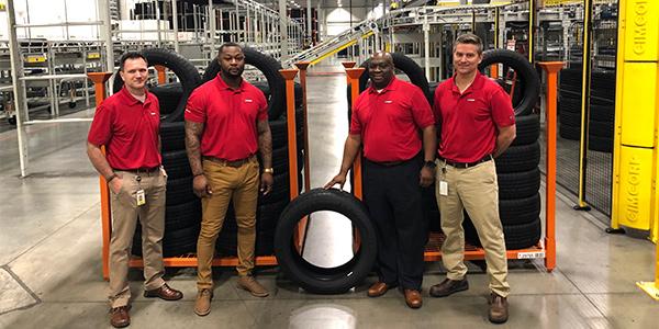 Giti Tire plant team Richburg SC