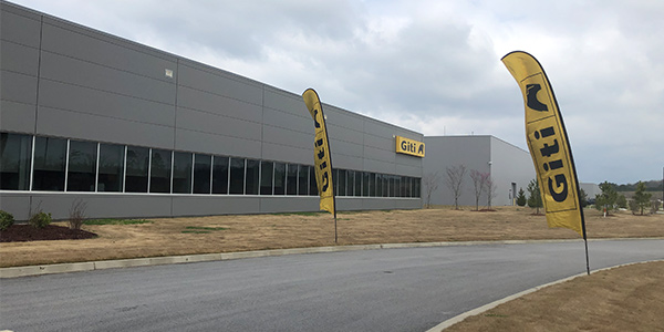 Giti Tire USA plant outside South Carolina