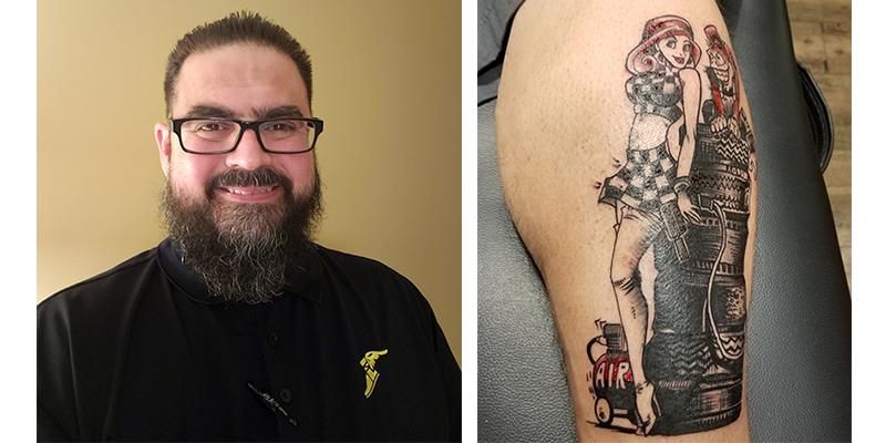 Christopher Rivas Tire Review Tattoo Challenge Winner