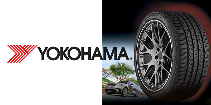 Yokohama Tire Geolander X-CV luxury SUV crossover tire