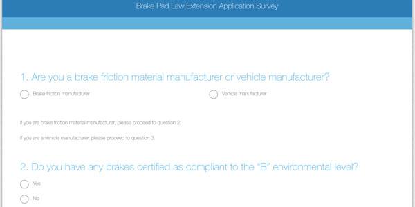 Brake-Survey