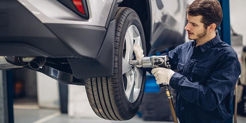 Tire shop technician