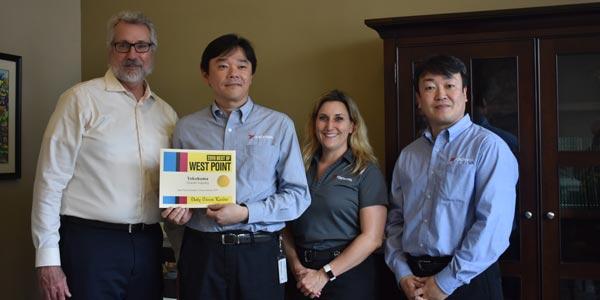 Yokohama-Mississippi-Plant-Award