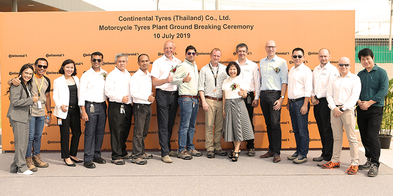 Continental motorcycle tire plant thailand