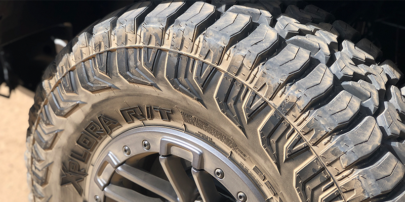 Federal Tire Xplora R/T sidewall