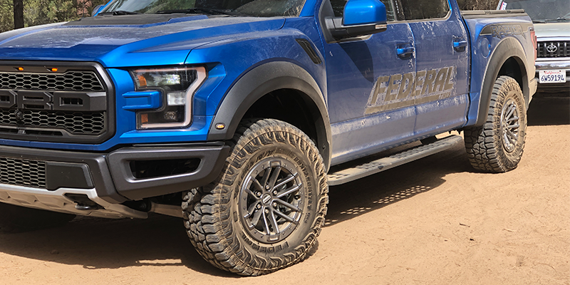 Federal Tire Xplora RT Ford Raptor