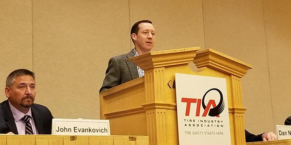 Brian Rigney 2019- 2020 TIA president