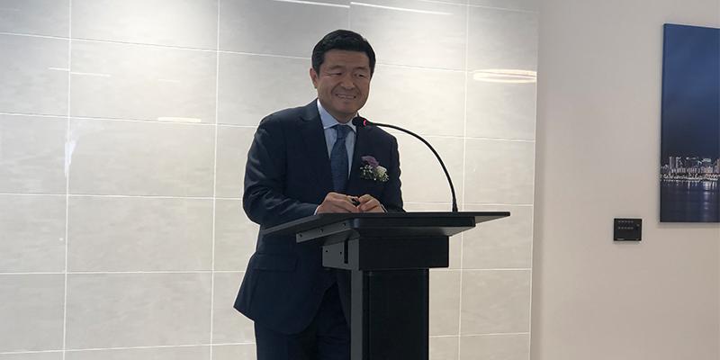 Nexen CEO Travis Kang