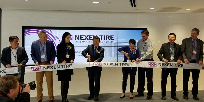 Ribbon Cutting Nexen Tech Center
