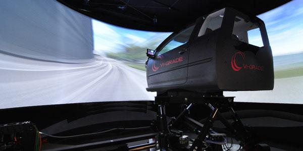 Goodyear-VI-grade-driver-in-motion-simulator