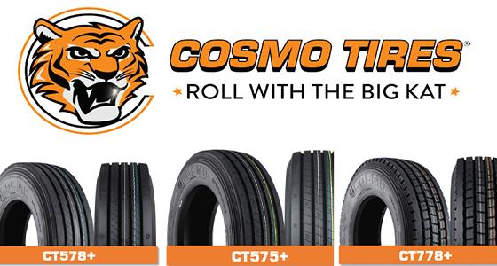 Cosmo Tires super regional tires