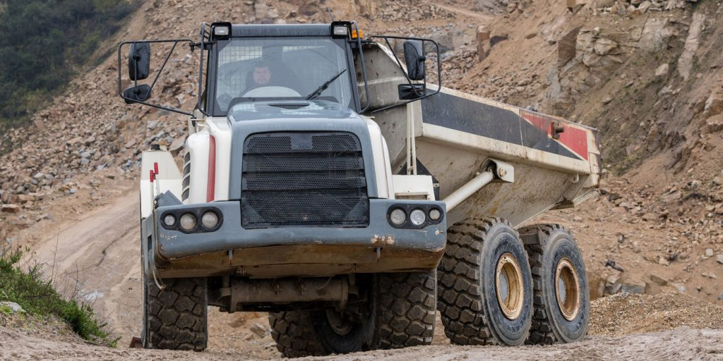 Allaince--Galaxy-HTSR-400---Dump-Truck