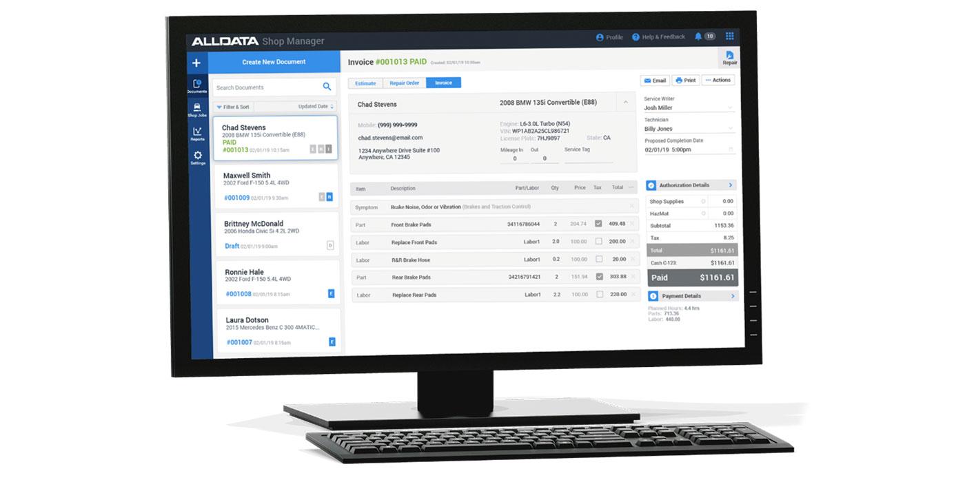 Alldata-shop-manager