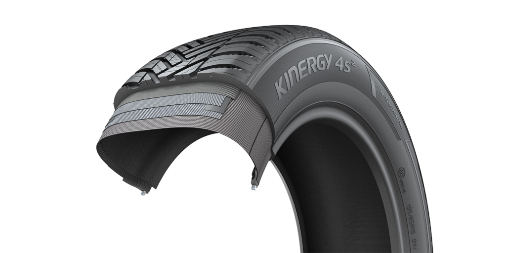 Hankook Tire kinergy 4S2 allweather tire tread and belt package