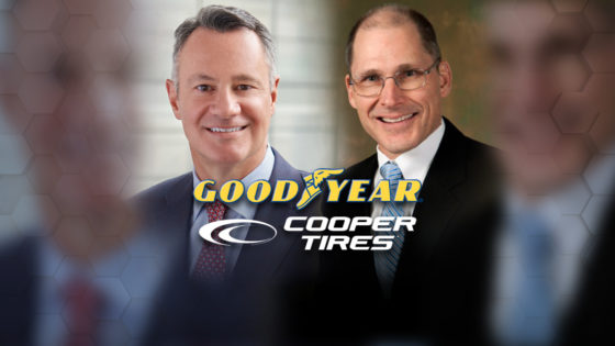 Goodyear Tire Kramer Cooper Tire Hughes CEOs