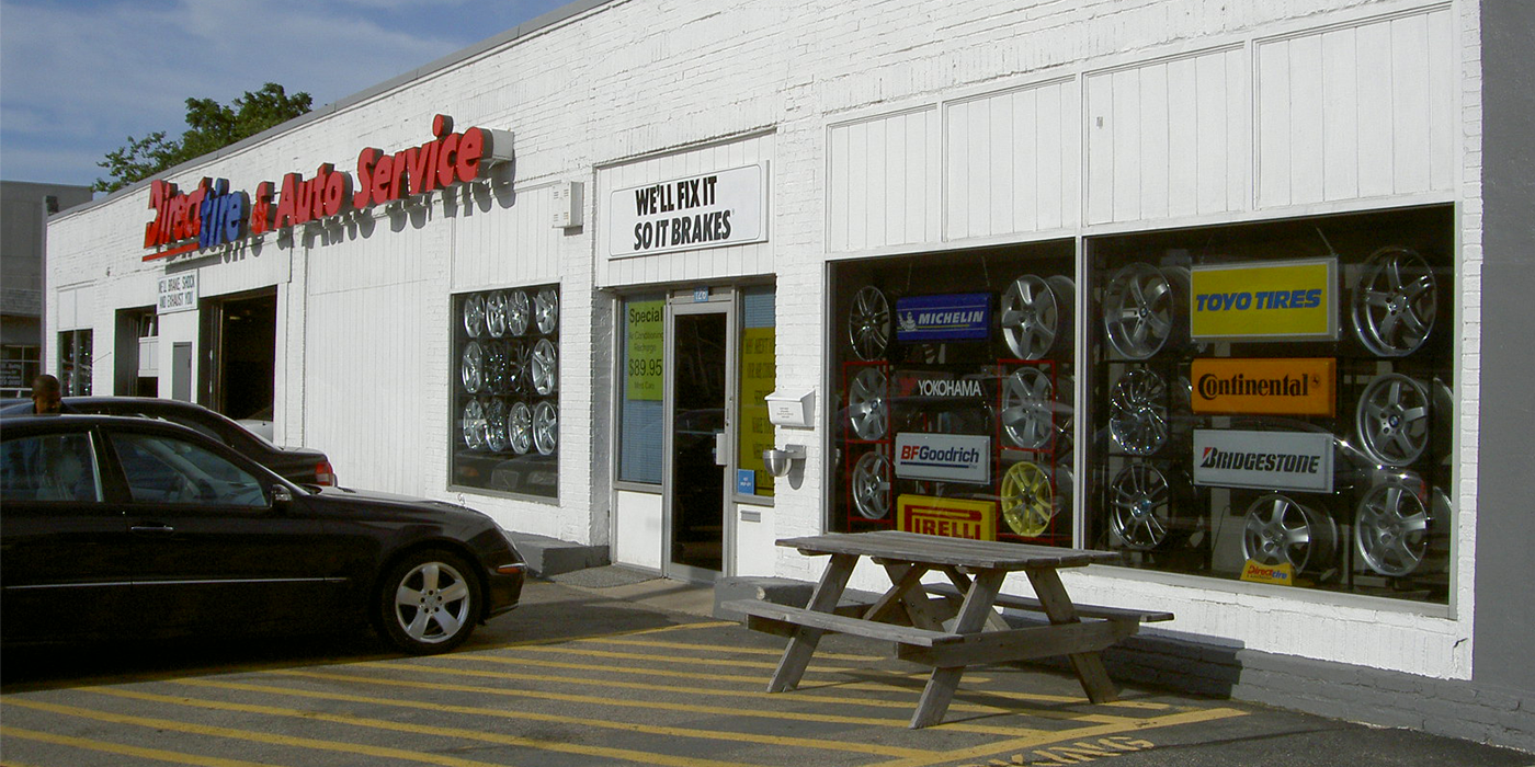Direct Tire storefront