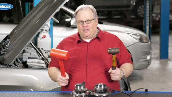 BCA Bearing - Use Hammer to Loosen Bearing