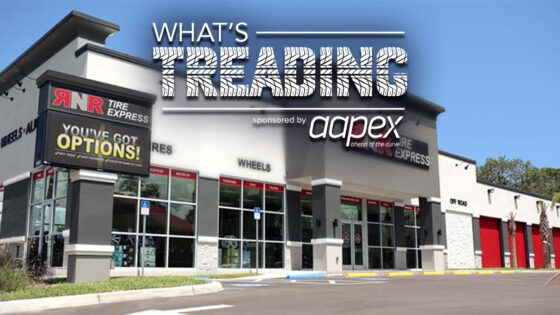 What's Treading RNR Tire Express