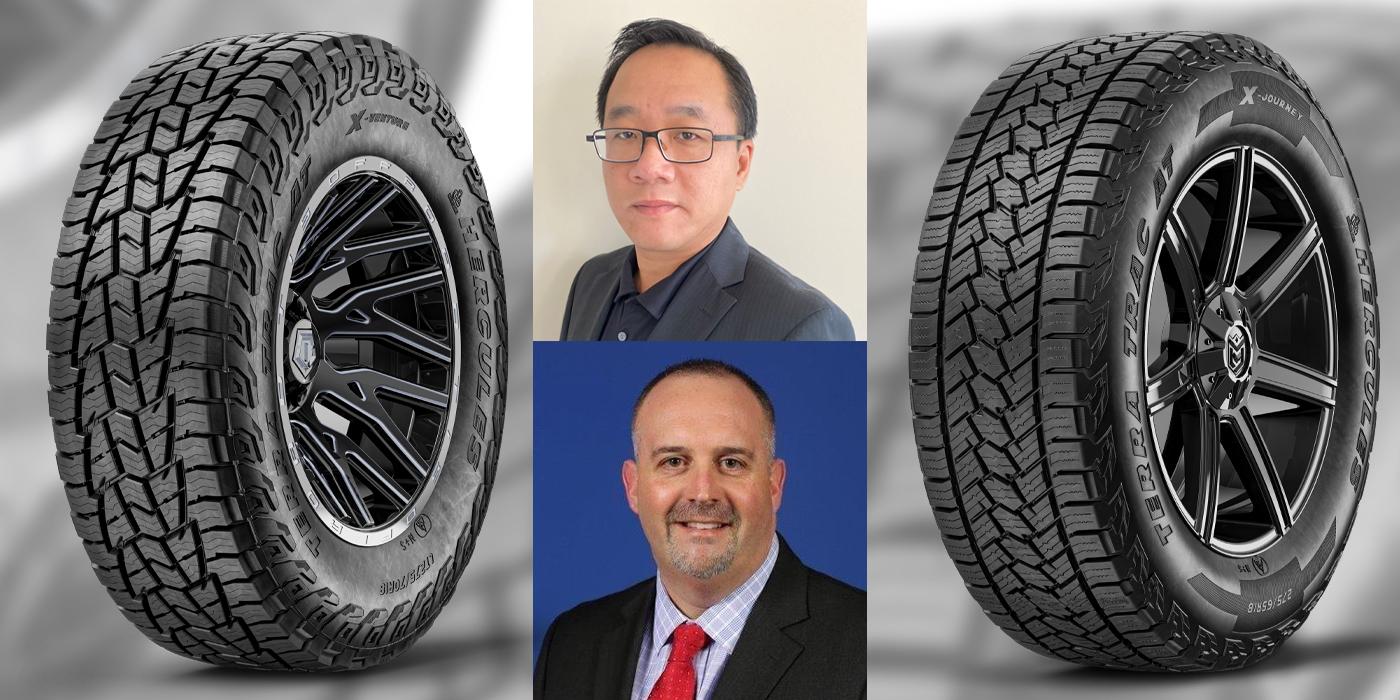Hercules Tire Josh Simpson Steven Liu