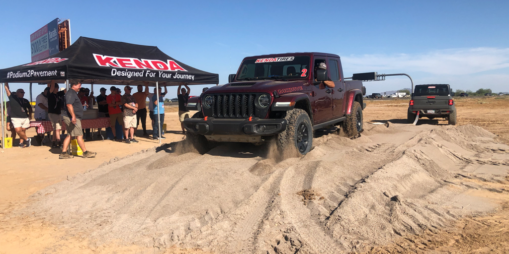 Kenda  Tire Traction Tests 2