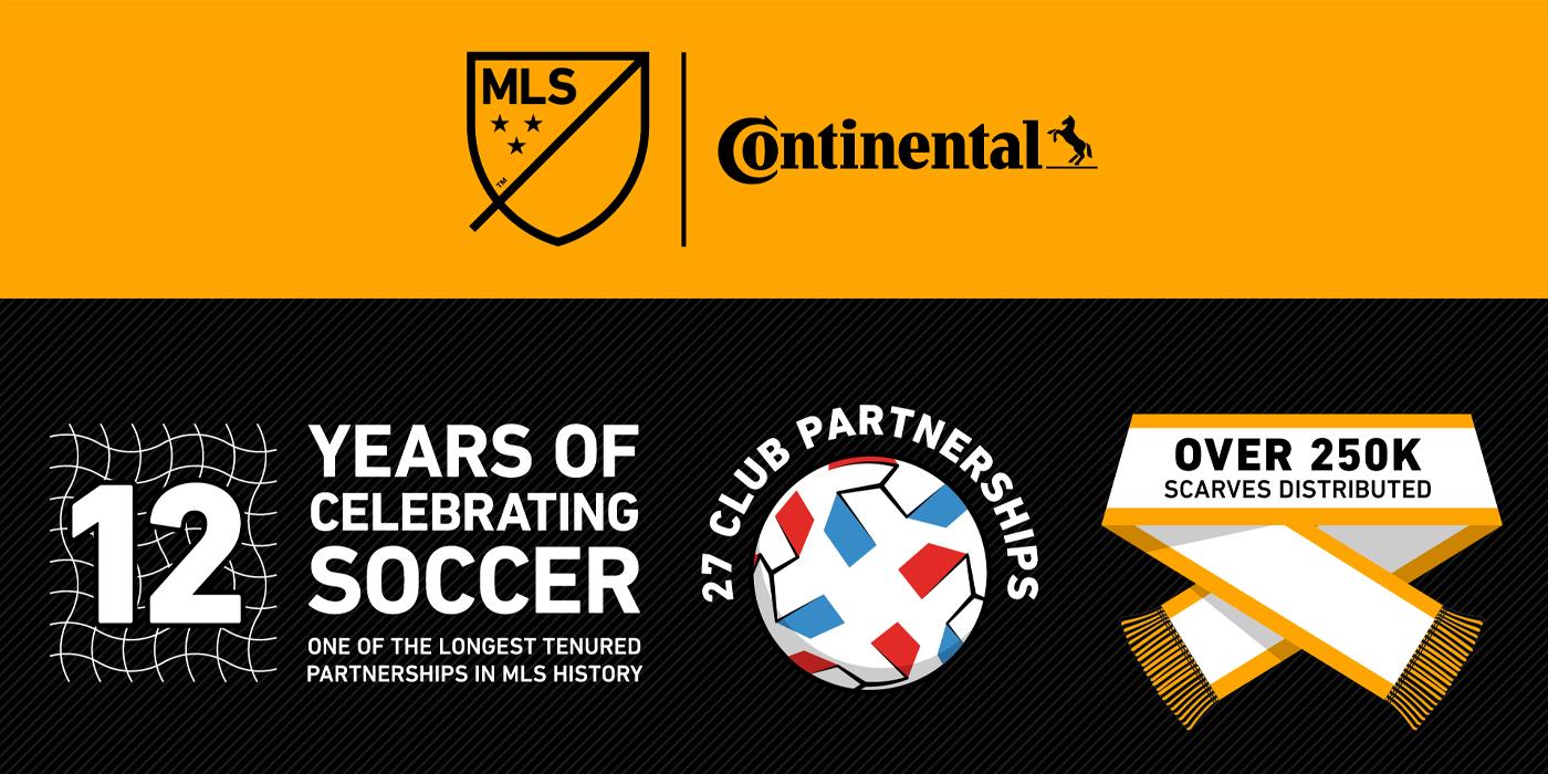 Continental Tire Major League Soccer sponsorship