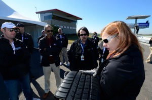 Sarah Robinson, Michelin test driver and technical marketing manager, explains how the Pilot SportA/S 3 tread impacts wet and dry braking.