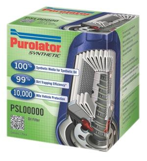 purolator synthetic oil filter