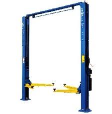 the model 209ch two-post lift from peak lifts