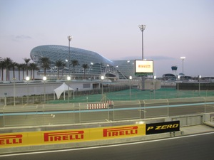 Pirelli took center stage at the Yas Marina Circuit in Abu Dhabi, UAE, when it unveiled its 2012 Formula One tire lineup.