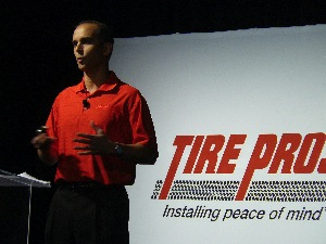 atdsenior vice president of marketing ron sinclair said tire pros is a