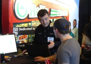Nearly two dozen vendors gave Tire Pros dealers a close-up view of their goods and services.